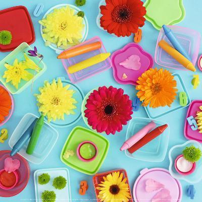 Colors and Flowers-Amelie Vuillon-Art Print