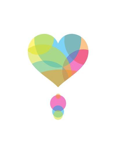 Colors of a Heart-Volkan Dalyan-Art Print