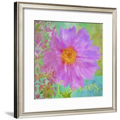 Colors Of Flowers I - Cosmos-Cora Niele-Framed Giclee Print