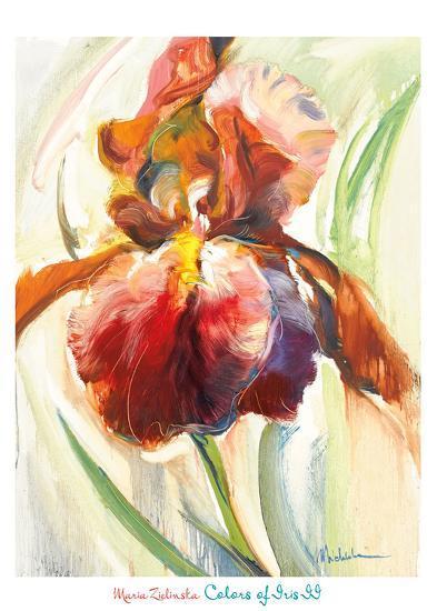 Colors of Iris II-Maria Zielinksa-Art Print