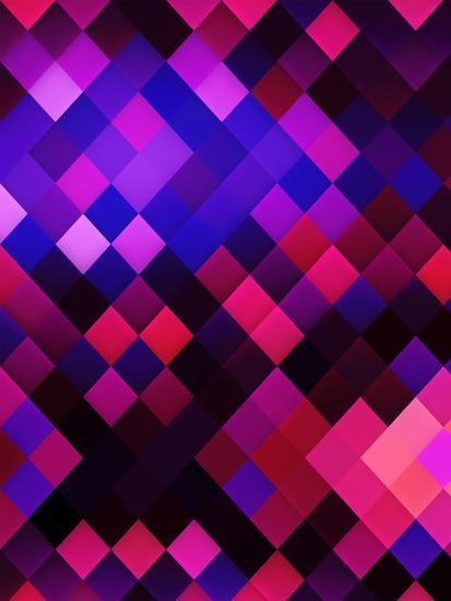 Colors Of Pattern Modern Style-Wonderful Dream-Art Print