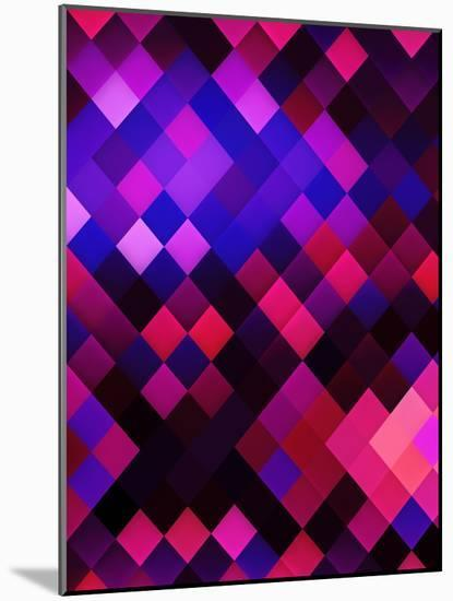 Colors Of Pattern Modern Style-Wonderful Dream-Mounted Art Print