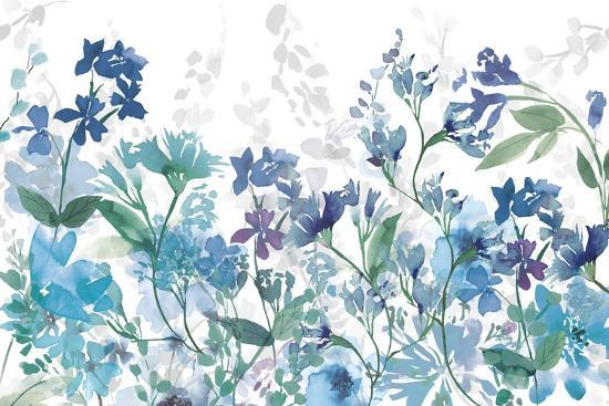 Colors of the Garden Cool Shadows-Wild Apple Portfolio-Art Print