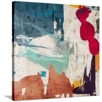 Colors Royale I-Anne Munson-Stretched Canvas Print