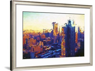 Colors Sunday - In the Style of Oil Painting-Philippe Hugonnard-Framed Giclee Print