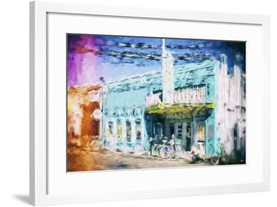 Colors Tropic - In the Style of Oil Painting-Philippe Hugonnard-Framed Giclee Print