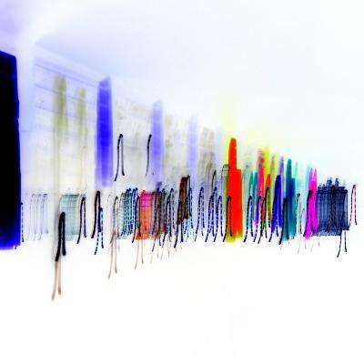 Colors Walk-Blew-Photographic Print