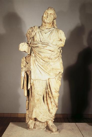 Colossal Statue from the Mausoleum at Halicarnassus--Giclee Print