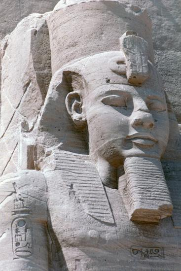 Colossal Statue of Rameses II, Temple of Abu Simbel, Egypt, 13th Century BC--Photographic Print