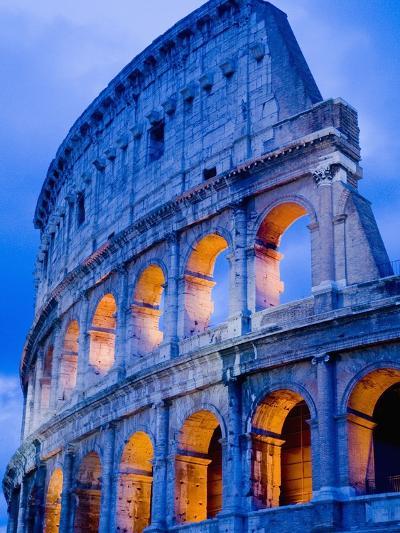 Colosseum at Dusk-Bob Krist-Photographic Print