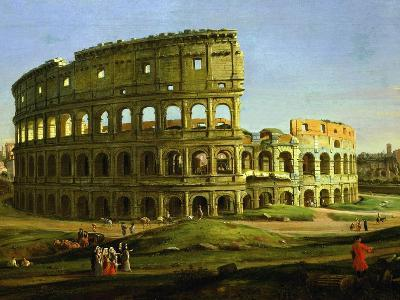 Colosseum, from the Colosseum and the Roman Forum (Inv 884), Detail-Gaspar van Wittel-Giclee Print