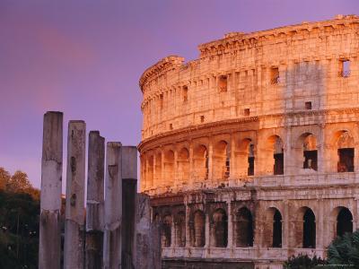 Colosseum, Rome, Italy-John Miller-Photographic Print