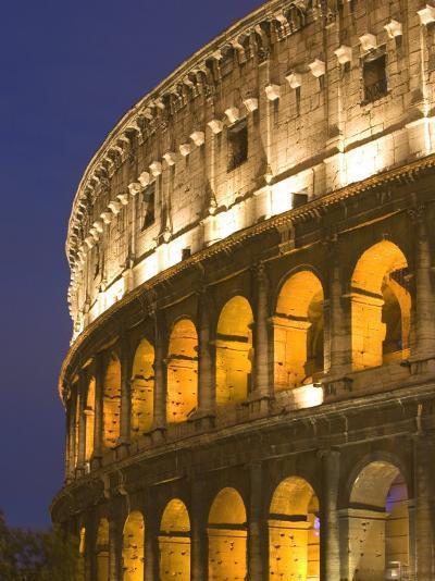 Colosseum, Rome, Lazio, Italy, Europe-Marco Cristofori-Photographic Print