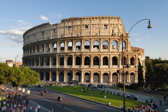 Colosseum Rome-Charles Bowman-Photographic Print