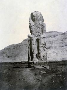 Colossi of Memnon, Thebes, Egypt, 1852