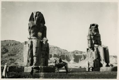 Colossi of Memnon, Thebes, Egypt--Photographic Print