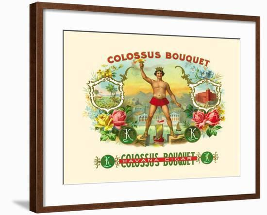 Colossus Bouquet- George S. Harris & Sons-Framed Art Print
