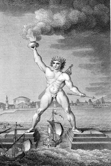 Colossus of Rhodes--Giclee Print