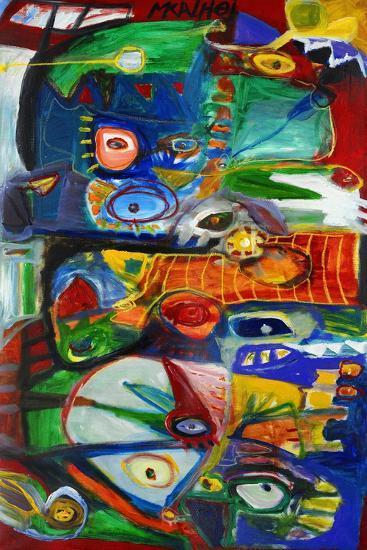 Colour Abstract-Martin Kalhoej-Art Print