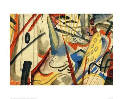 Colour Composition II-Auguste Macke-Giclee Print