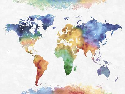 Colour Earth-Tania Bello-Giclee Print