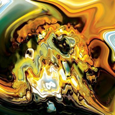 Colour Game 3-Rabi Khan-Art Print
