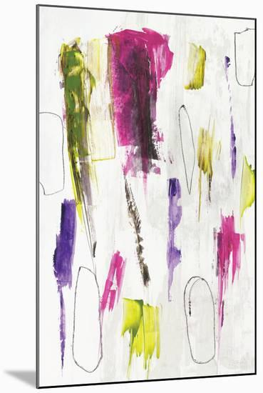 colour splash I-PI Studio-Mounted Art Print