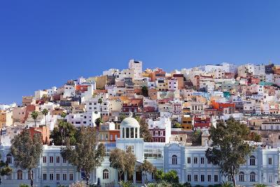 Coloured Buildings in the District of San Juan-Markus Lange-Photographic Print