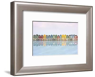 Coloured Houses-Marco Carmassi-Framed Photographic Print