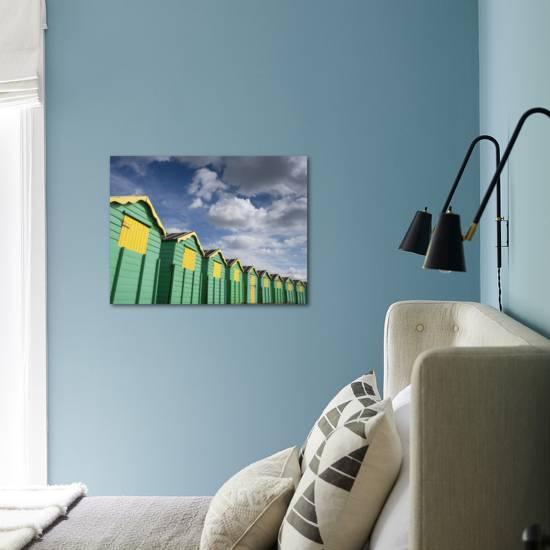 Colourful Beach Huts, Littlehampton, West Sussex, England, United Kingdom,  Europe Photographic Print by Miller John | Art com
