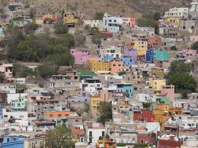 Colourful Buildings, Guanajuato, Guanajuato State, Mexico, North America-Robert Harding-Photographic Print
