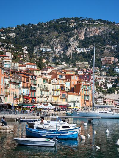 Colourful Buildings, Villefranche, Alpes-Maritimes, Provence-Alpes-Cote D'Azur, French Riviera-Adina Tovy-Photographic Print