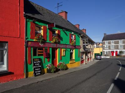 Colourful Cafe in Kilgarvan Village, County Kerry, Ireland--Photographic Print