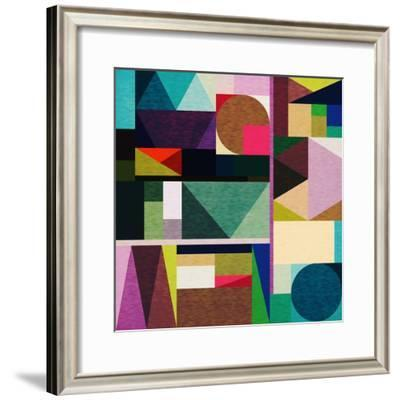 Colourful Day-Fimbis-Framed Giclee Print