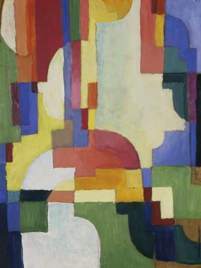 Colourful Forms I, 1913-August Macke-Giclee Print
