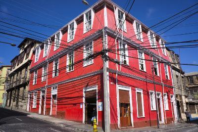 Colourful House, Valparaiso, Chile-Peter Groenendijk-Photographic Print