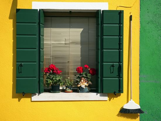 Colourful Houses in Burano-Tony Burns-Photographic Print
