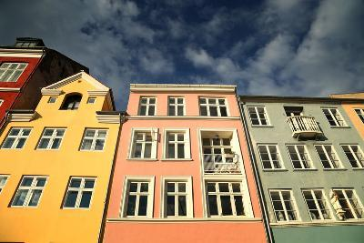 Colourful Houses in Copenhagen, Europe-pink candy-Photographic Print
