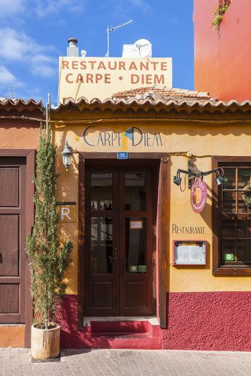 Colourful Houses, Tazacorte, La Palma, Canary Islands, Spain, Europe-Gerhard Wild-Photographic Print
