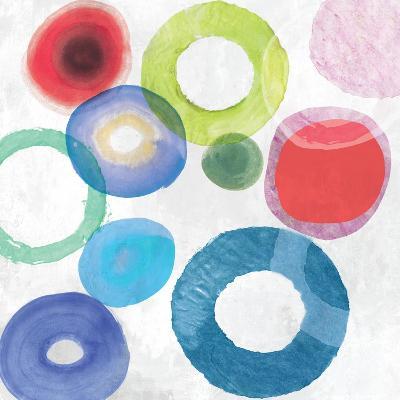 colourful Rings II-Tom Reeves-Art Print