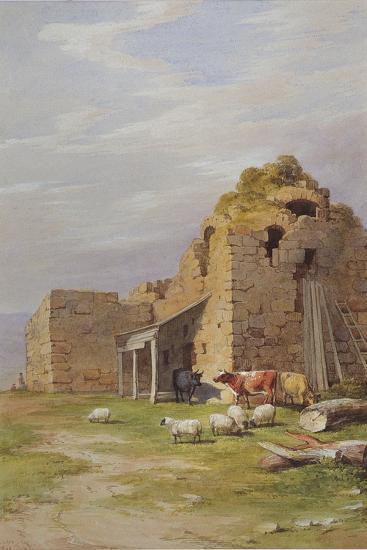 Colqhouny Castle, 1841-James Giles-Giclee Print