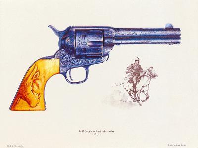 Colt 45 Calibre, 1892-J. Pritchard-Premium Giclee Print