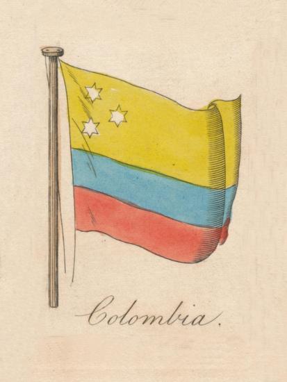 'Columbia', 1838-Unknown-Giclee Print