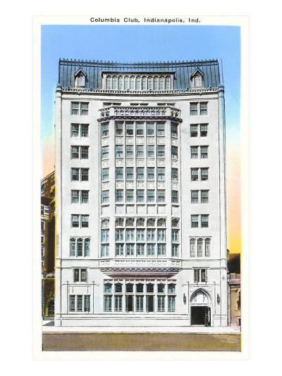 Columbia Club, Indianapolis, Indiana--Art Print