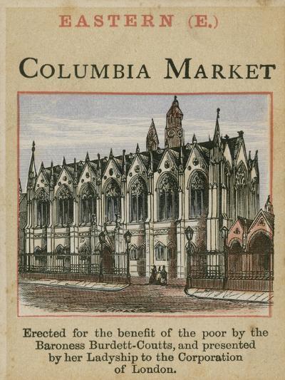 Columbia Market--Giclee Print