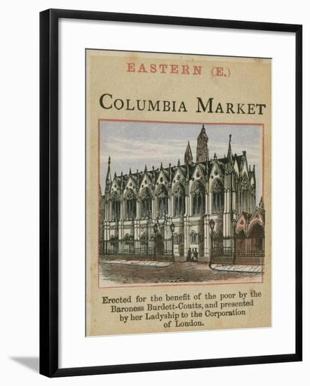 Columbia Market--Framed Giclee Print
