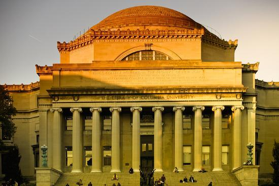 Columbia University - College - Campus - Buildings and Structures - Manhattan - New York - United S-Philippe Hugonnard-Photographic Print