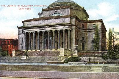 Columbia University Library, New York, USA, C1900s--Giclee Print
