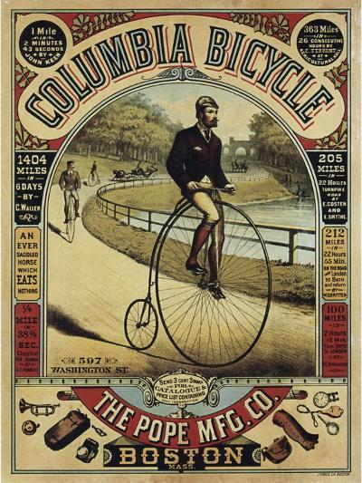 Columbia--Giclee Print