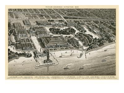 Columbian Exposition, 1893, Chicago, Illinois--Art Print